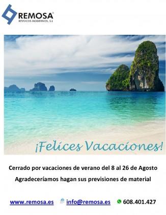 VACACIONES VERANO 2016