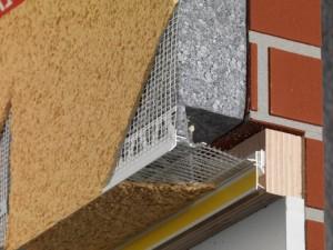 Como hacer el goterón en ventanas y puertas con un perfil de Arranque con goterón
