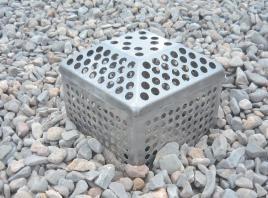PARAGRAVILLERO INOX con tapa plana o piramidal