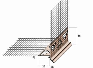 Cómo hacer el goterón en ventanas y puertas