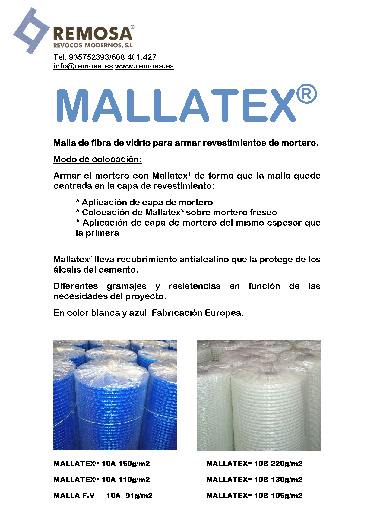 MALLATEX® MORTERO