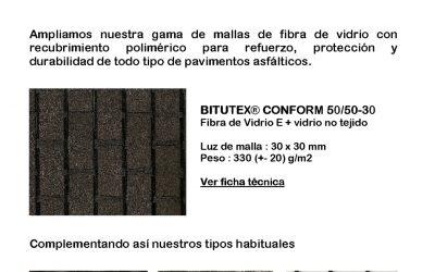 NUEVA MALLA PARA ASFALTO – BITUTEX CONFORM