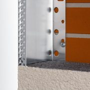 Perfil de Cierre Lateral aluminio SATE ETICS