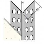 Angulares y guardavivos en pvc y aluminio