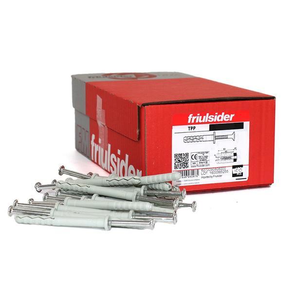 Tornillo zincado para fijación de perfiles aluminio para SATE