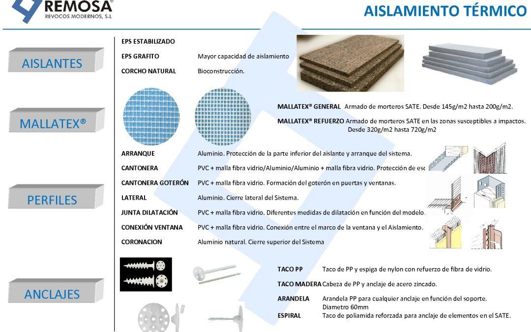 Complementos para el Sistema de Aislamiento Térmico Exterior